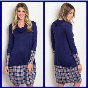 ❗️NEW❗️Super Cute Plaid Blue Dress ⭐️ M • L • XL